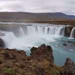 Godafoss. | Photo taken by Mathew B