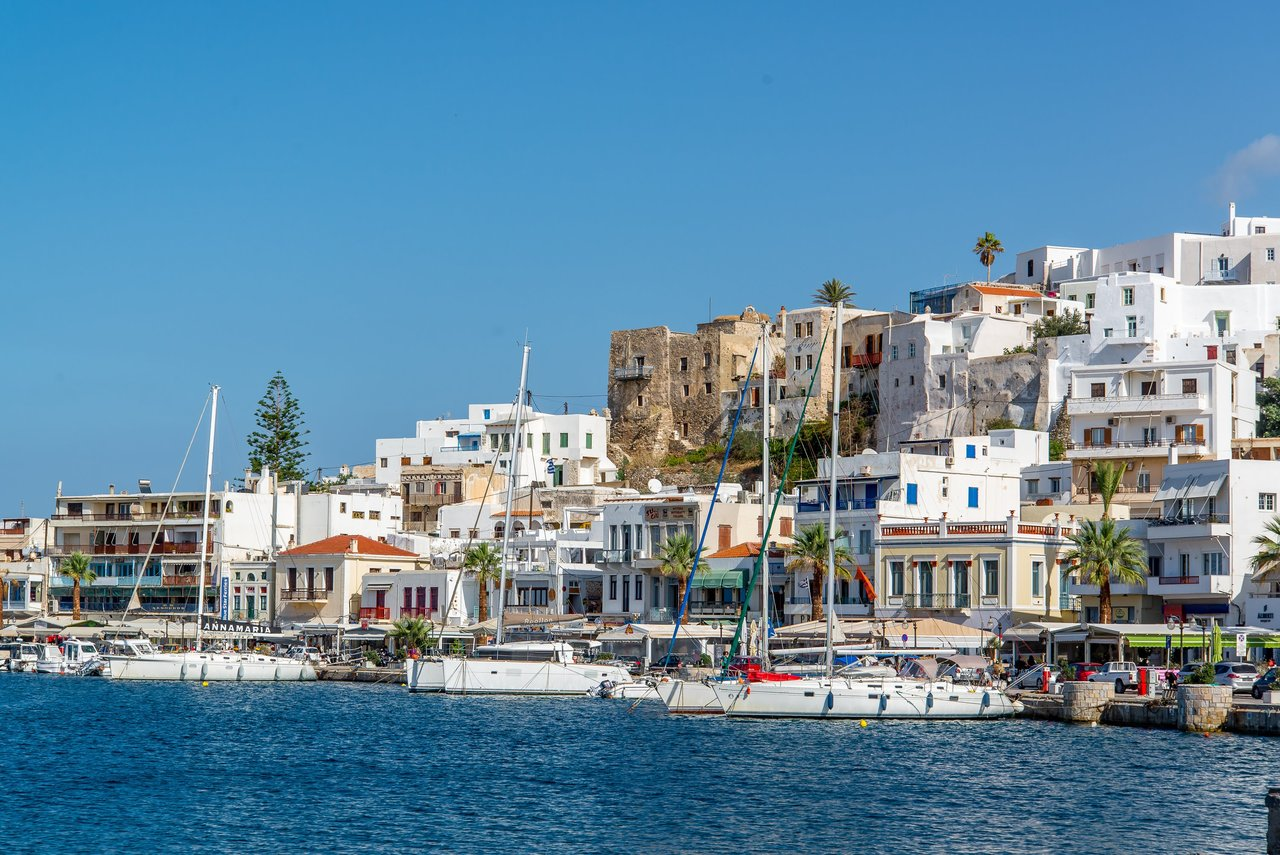 The port of Naxos | Photo taken by David B