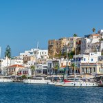 The port of Naxos | Photo taken by David B