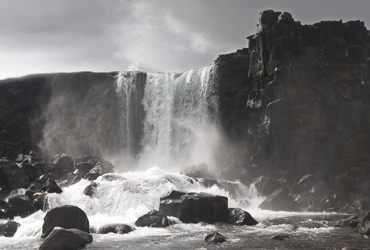 Oxararfoss, Thingvellir   Photo taken by Kim C