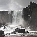 Oxararfoss, Thingvellir | Photo taken by Kim C
