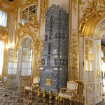 Heating, ceramic stoves in the palace rooms | Photo taken by Diane P