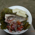 Kichua lunch. | Photo taken by Katrina H