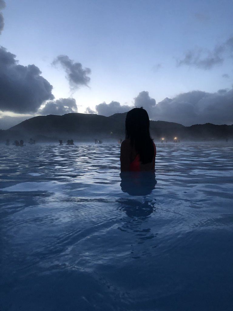 Beauty in the Blue Lagoon  | Photo taken by Purvish P
