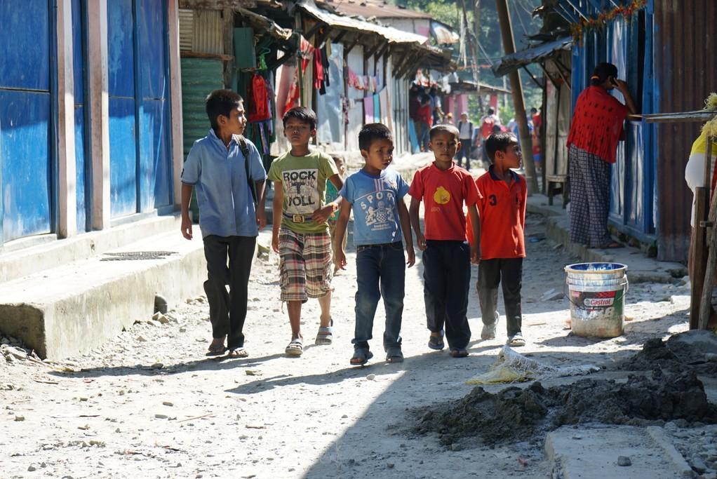 Kids playing | Photo taken by Maria S