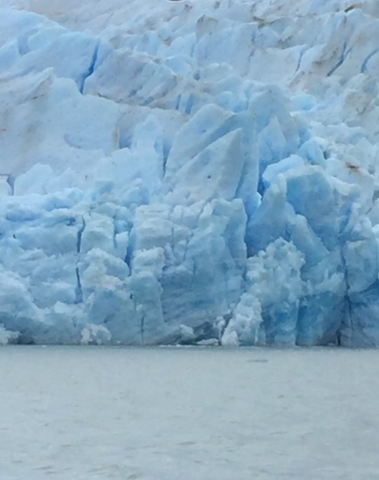 Lago Grey Glacier | Photo taken by Sheila S