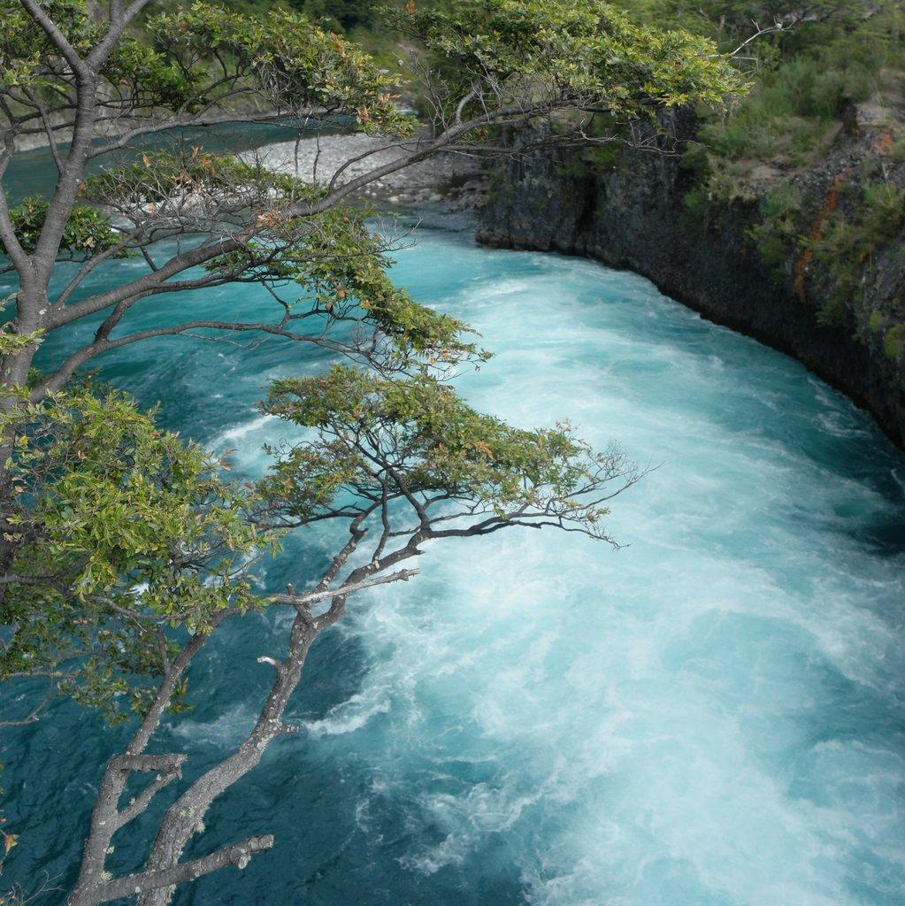 Petrohué Falls | Photo taken by Beth S