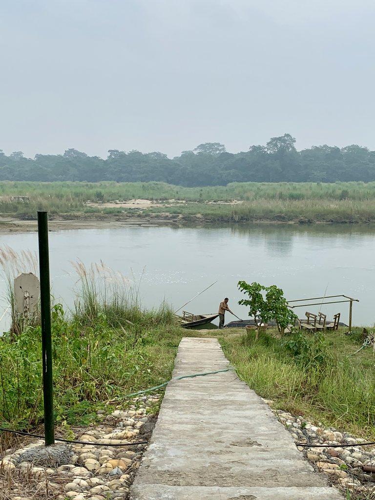 the Rapti River   Photo taken by Caroline R