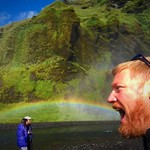 Me tasting a rainbow  | Photo taken by Todd G