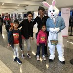 Easter Bunny at LAX | Photo taken by Nitin A