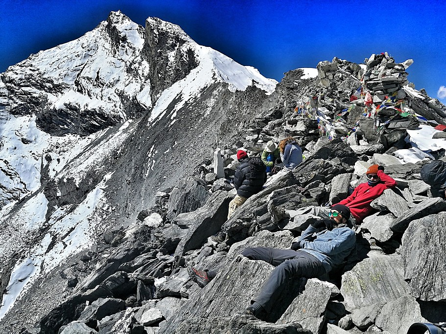 Top of Kongma La Pass | Photo taken by Harold S