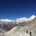 Coming down from 5200 metres  | Photo taken by Joel K