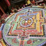 Sand mandala, Ghami | Photo taken by Lisa D