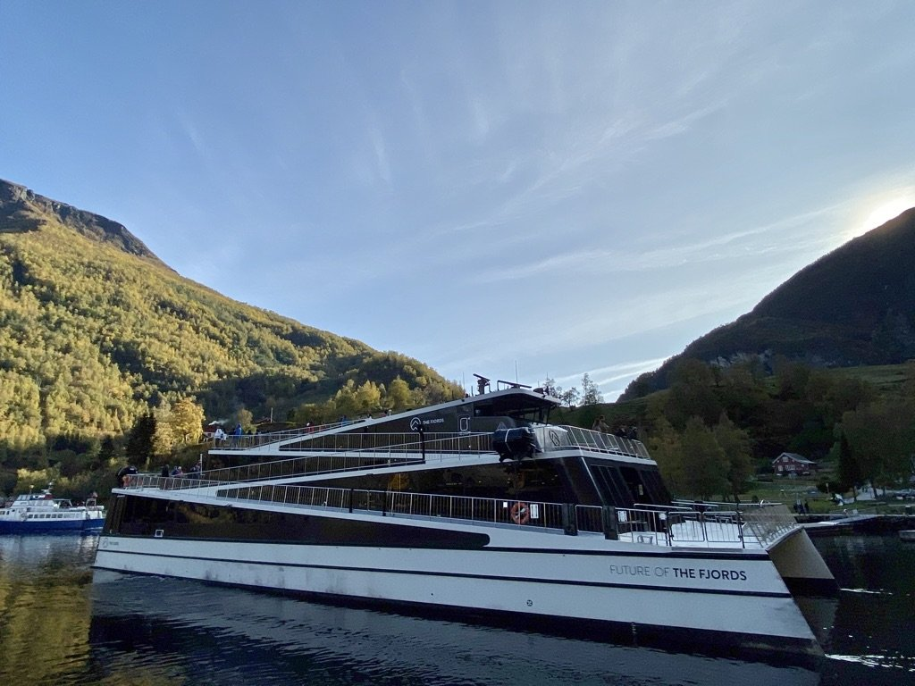 Fjordcruise - boat - great inside views  and outside views | Photo taken by Robin W