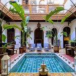 Our First Riad in Marrakech | Photo taken by Jordan A
