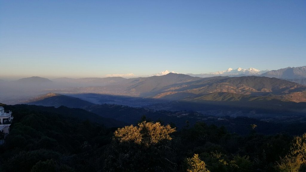 From nagarkot | Photo taken by Margaret Y