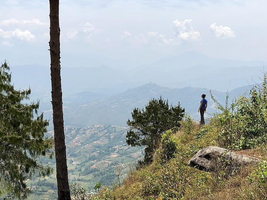Day 1: Nagarkot to Dhulikhel views | Photo taken by Vidushi G