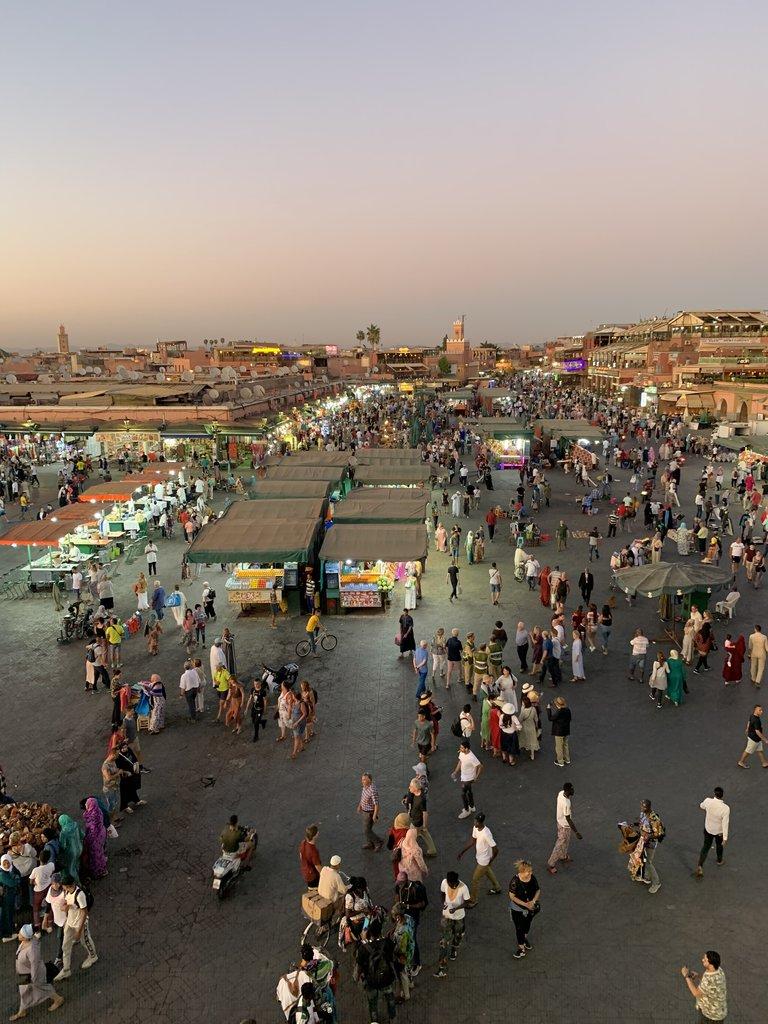 Jemaa El Fna Square | Photo taken by Rod K