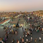 Jemaa El Fna Square | Photo taken by Rod K