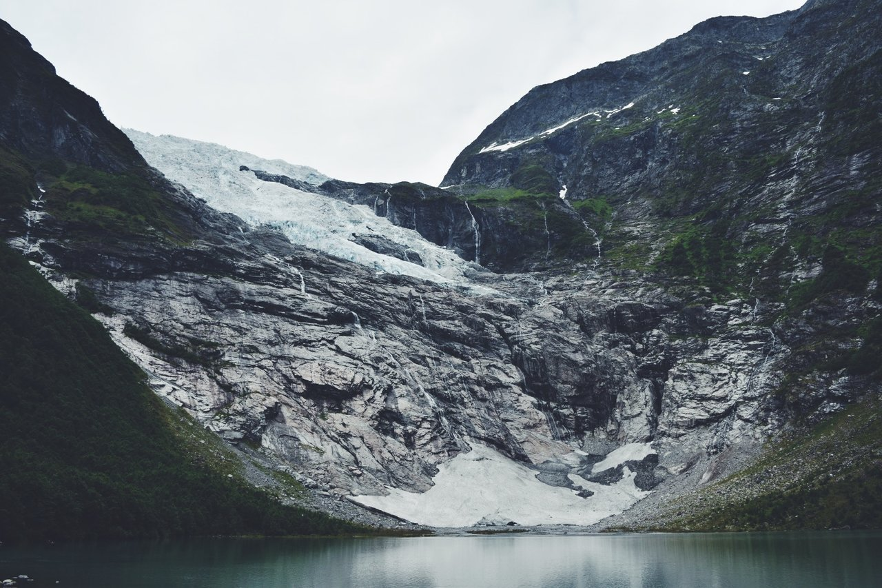 Bøyabreen Glacier | Photo taken by Michael W