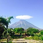 Conception volcano on Ometepe Island | Photo taken by Hugh B