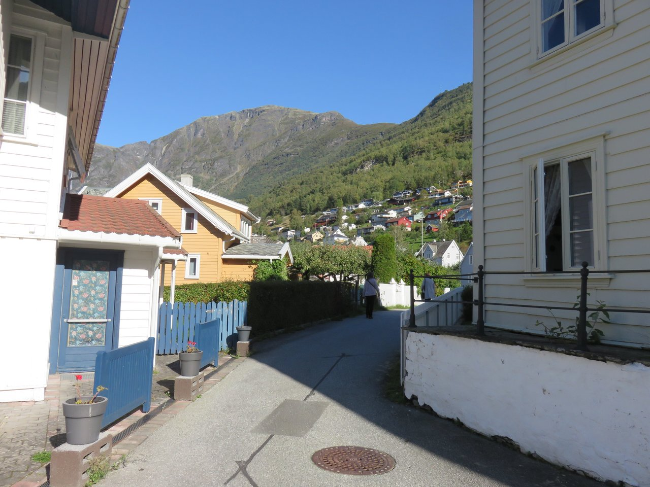 Streets of Aurland | Photo taken by Mary K