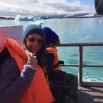Iceberg lagoon  | Photo taken by Anette U