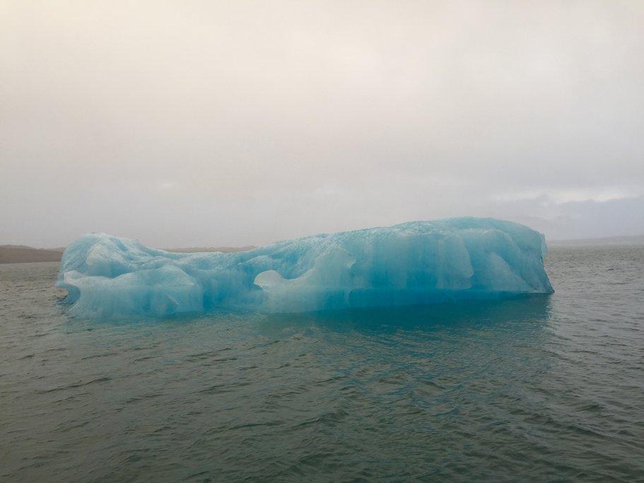 Glaciers, Jokulsarlon    Photo taken by Marisa K