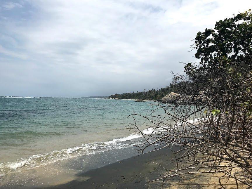 The secret beach | Photo taken by Sophie E