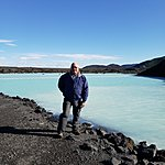 Outside of the Lagoon surrounded by lava fields | Photo taken by Dave L