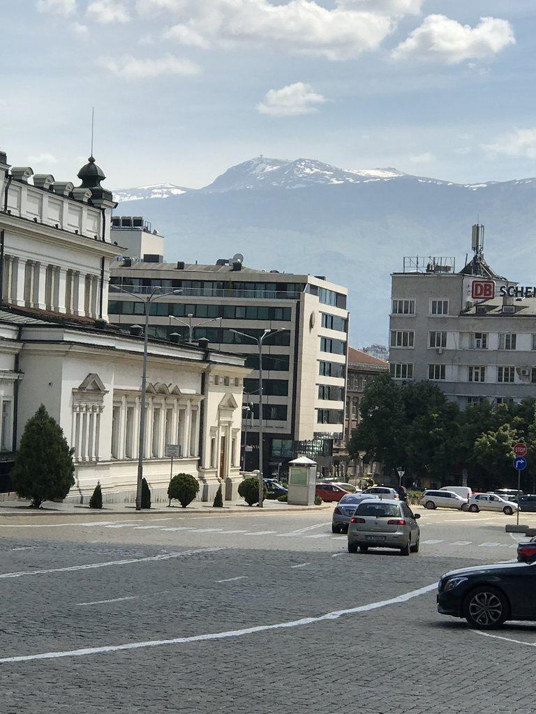 View of Mount Vitosha. | Photo taken by Alison C
