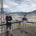 View of Quito  | Photo taken by Jessica y