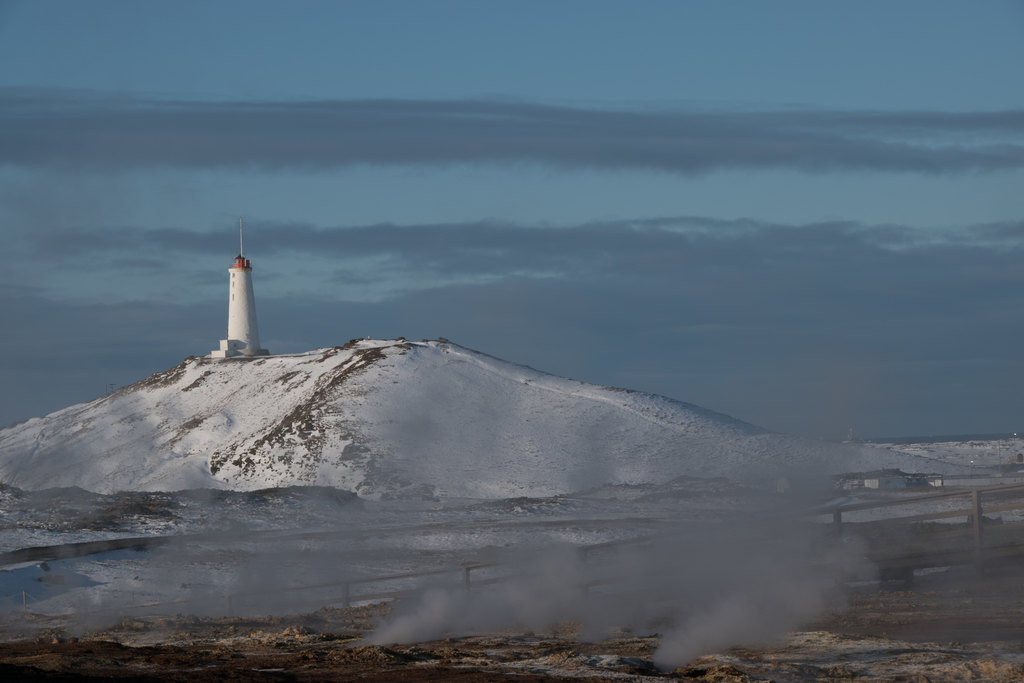Reykjanes Lighthouse | Photo taken by Kristin C