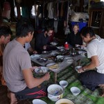 Wai's family lunch Inle | Photo taken by Koy T