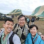 Hot air balloon ride over the Serengeti | Photo taken by Jonathan G