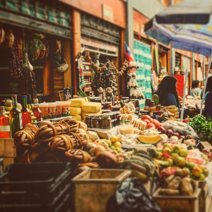 Open air market | Photo taken by Beth S