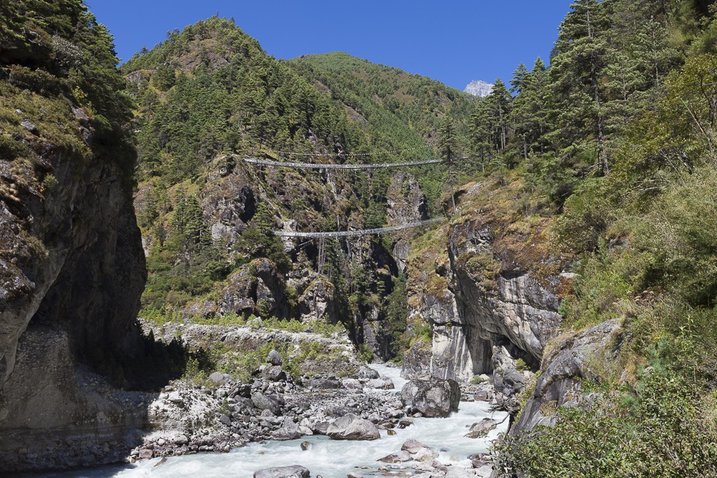suspension-bridge-to-Namche | Photo taken by Lidia D