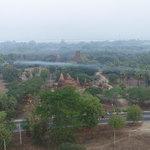 Balloon ride over Bagan | Photo taken by Liz Siddons