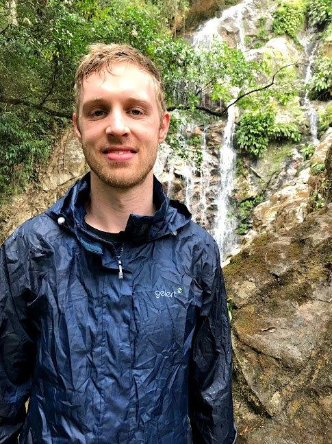 Rainy day at la cascada | Photo taken by Sophie E