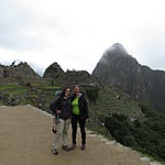 Kristin and Caro at Machu Picchu | Photo taken by Kristin M