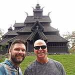 Stave church at Norse Folk Museum | Photo taken by Mark M