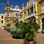 The old city in Cartagena | Photo taken by Ella W