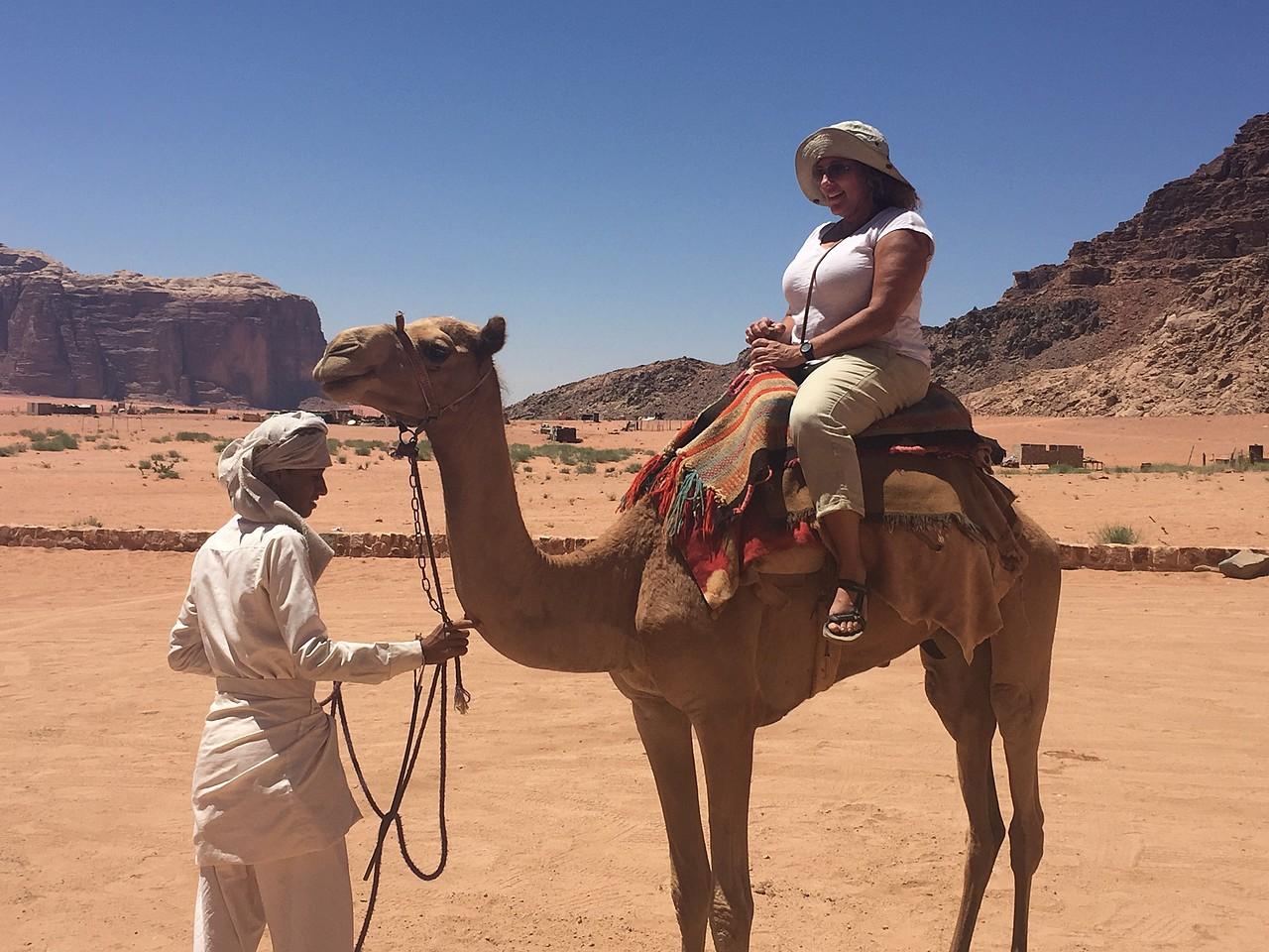 Day 1: Wadi Rum | Photo taken by Mia F
