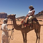 Day 1: Wadi Rum | Photo taken by Mia F