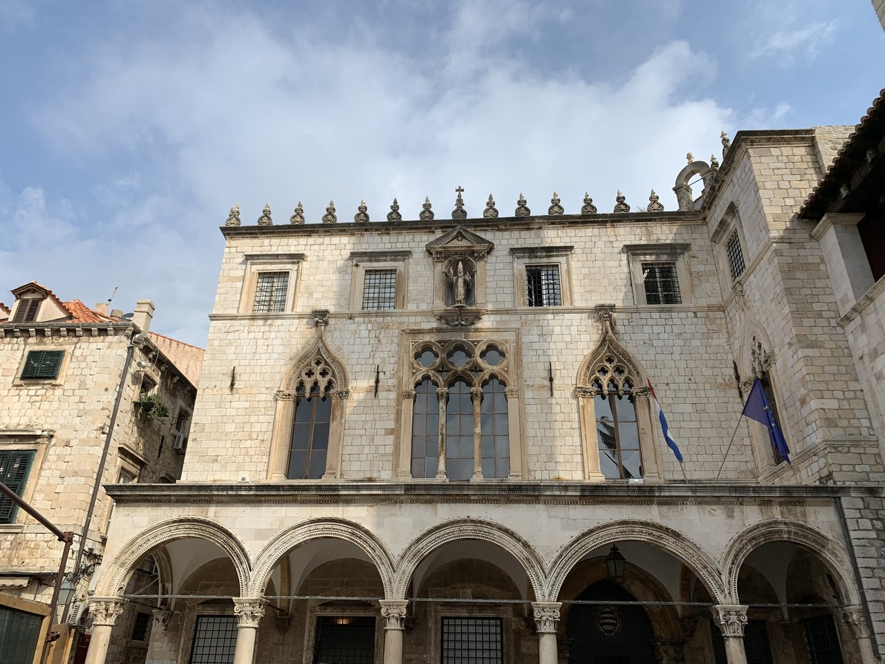 Sponza Palace: example of Venetian influence on the architecture of Dubrovnik | Photo taken by Eva W