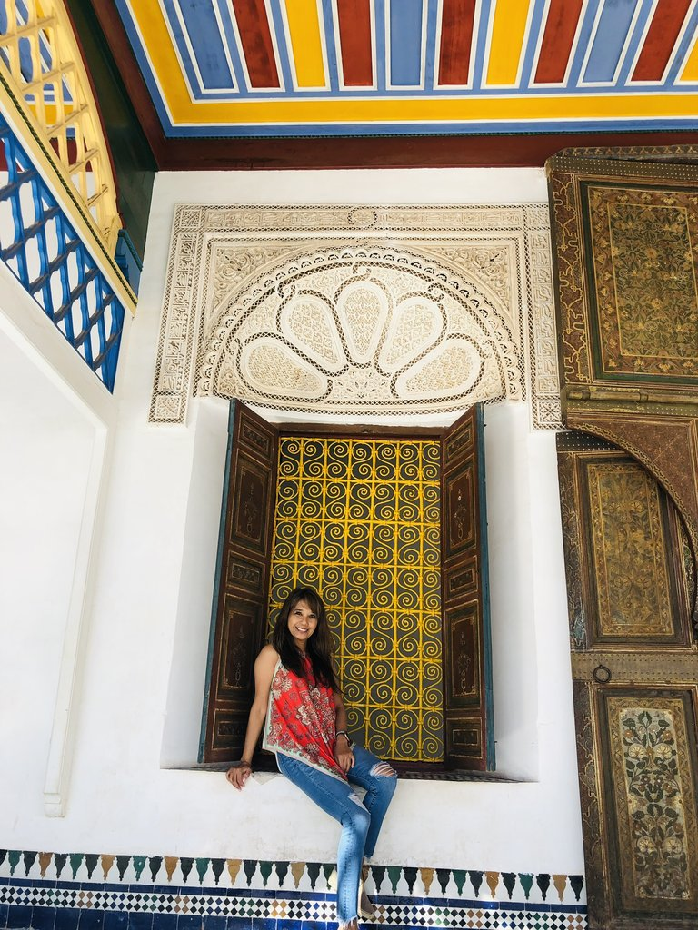Palais de la Bahia    Photo taken by Filipinas C