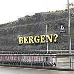 Bergen airport? | Photo taken by Valerie M