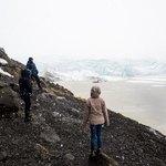 walk to glacier | Photo taken by Grace Lessing