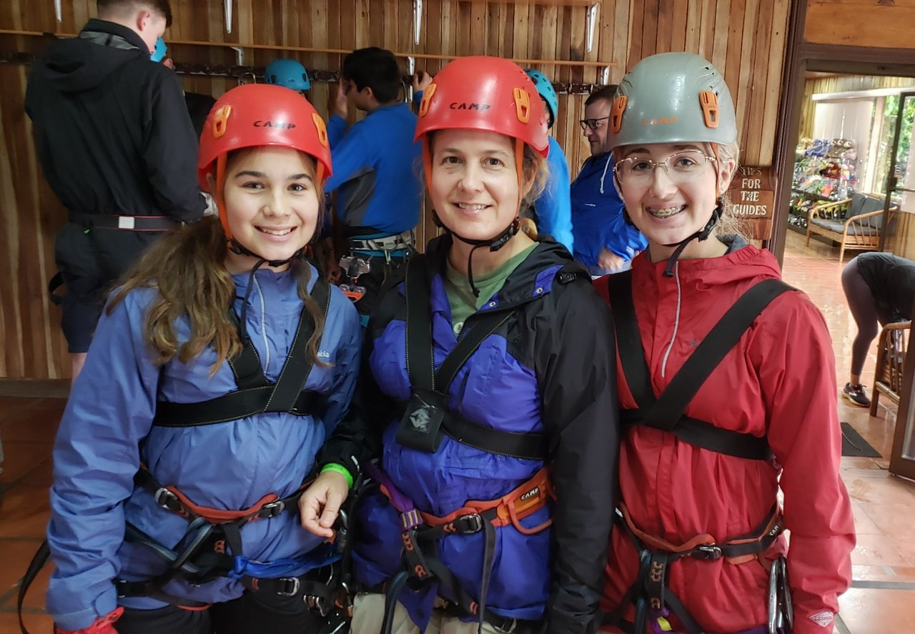 100! Adventures Ziplining | Photo taken by Laura M