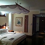 Our room at the Savoy, Yangon | Photo taken by Rodney S